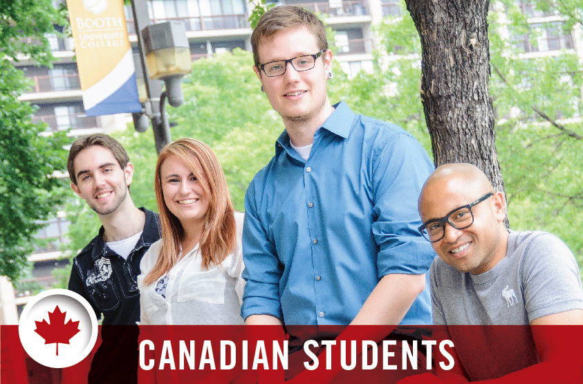 Booth University College Admissions- Canadian Students