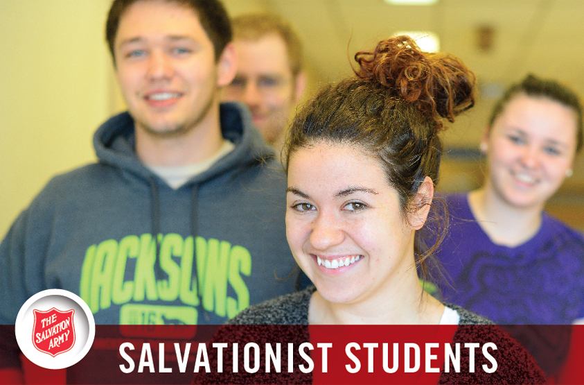 Salvationist Students- Learn about The Salvation Army's only University College