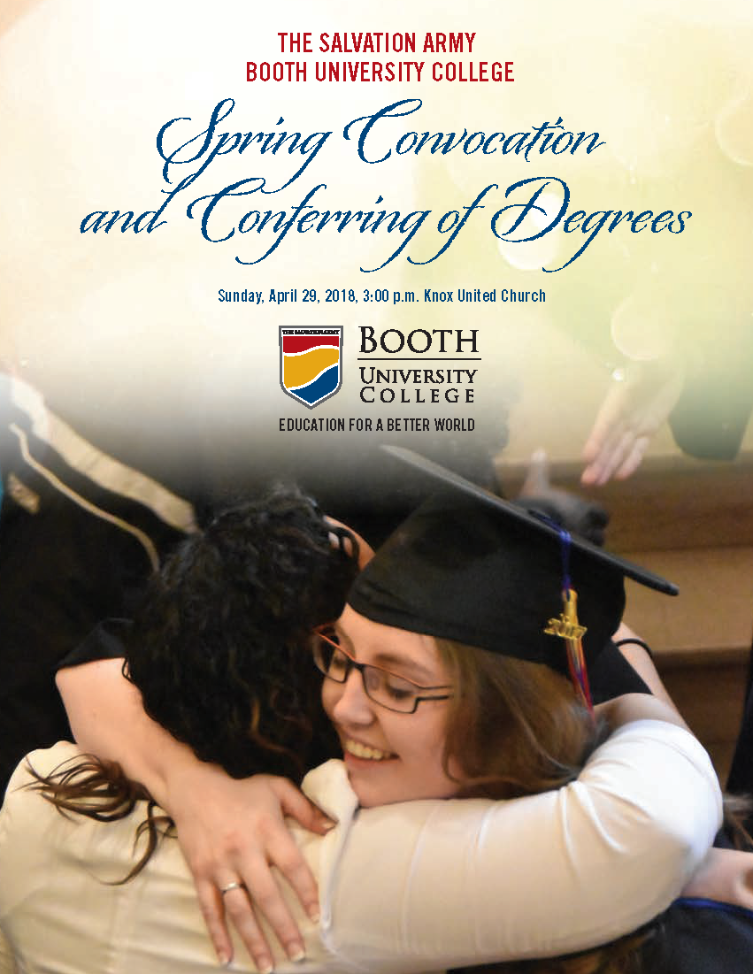 Spring Convocation and Conferring of Degrees