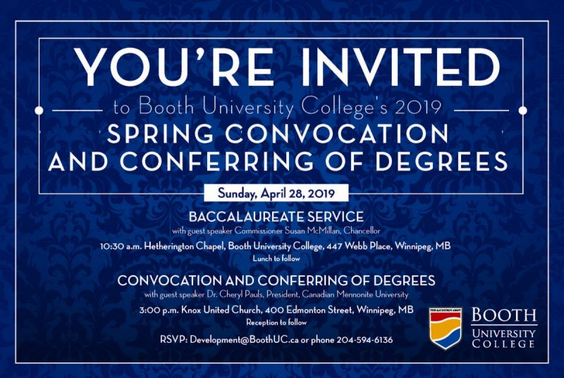 2019 Spring Convocation and Conferring of Degrees