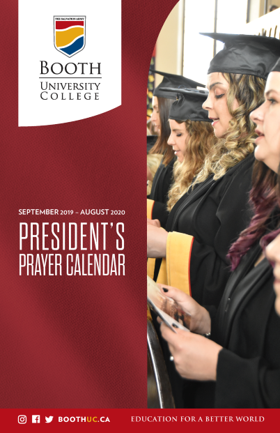 President's Prayer Calendar